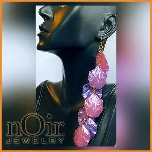 🏷 🆕 Noir Seashell Earrings   Purple + Lavender
